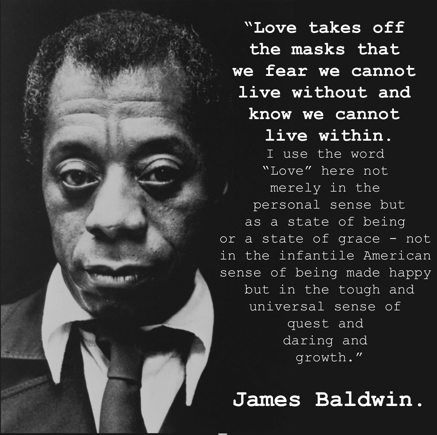 James baldwin essay